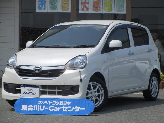 トヨタ X SA 1年保証 自動ブレーキ支援 アイドリングストップ