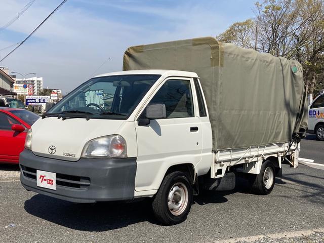 トヨタ タウンエーストラック  5速ミッション 幌 400kg垂直パワーゲート 最大積載量750kg