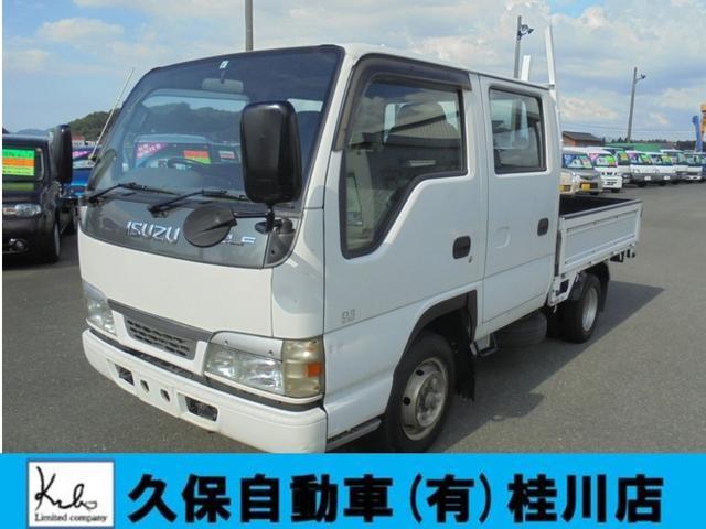 いすゞ Wキャブ 3方開 ETC NOX適合 Wタイヤ エアバック