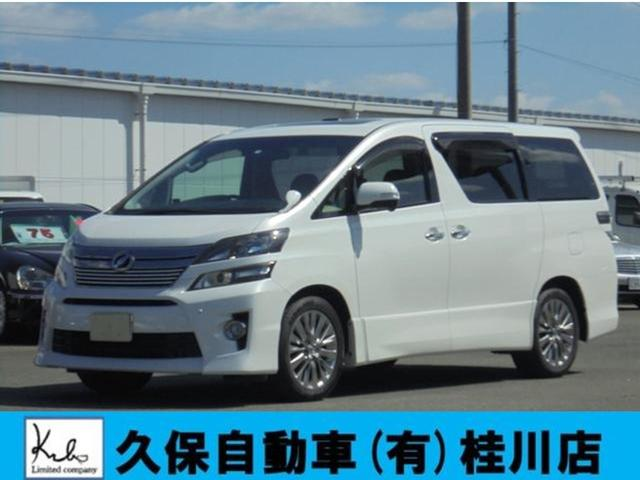 トヨタ 2.4Z ゴールデンアイズナビTV両側パワースラWサンルーフ