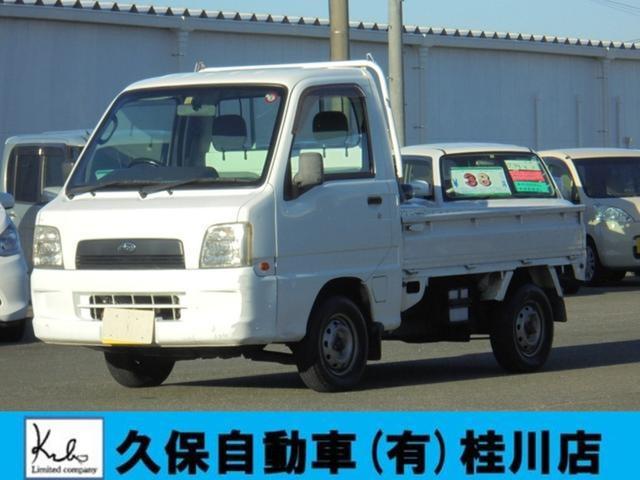 スバル サンバートラック TC 4WD パワステ エアコン エアバック 3方開