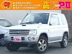 パジェロミニアクティブフィールドエディション ターボ 4WD 自社保証