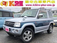 パジェロミニリミテッドエディションXR 4WD CD キーレス アルミ