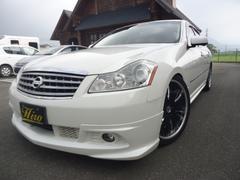 フーガ250GT・純正ナビ・サイド&バックカメラ・TEIN車高調