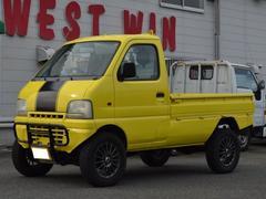 キャリイトラック公認リフトUP 4WD 5速MT エンジン載替 15AW