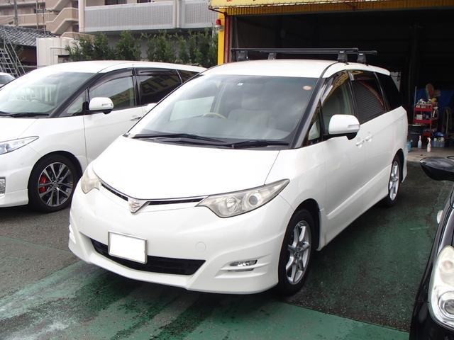 トヨタ 2.4アエラスGエディション HDDナビ フルセグ 電動ドア