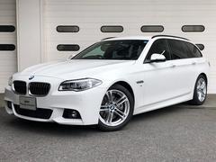 BMW523dツーリング Mスポーツ 1オーナー禁煙 ACC