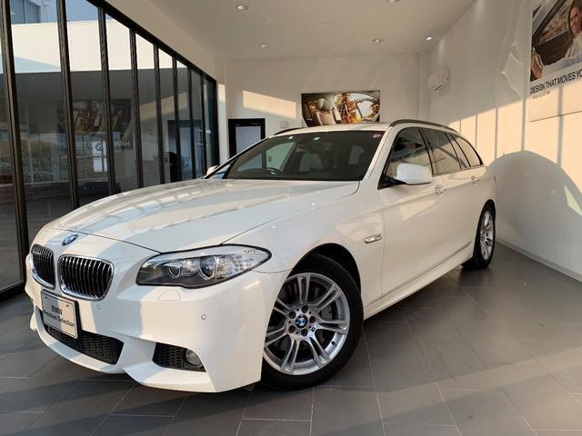BMW 535iツーリング Mスポーツ 本革シート