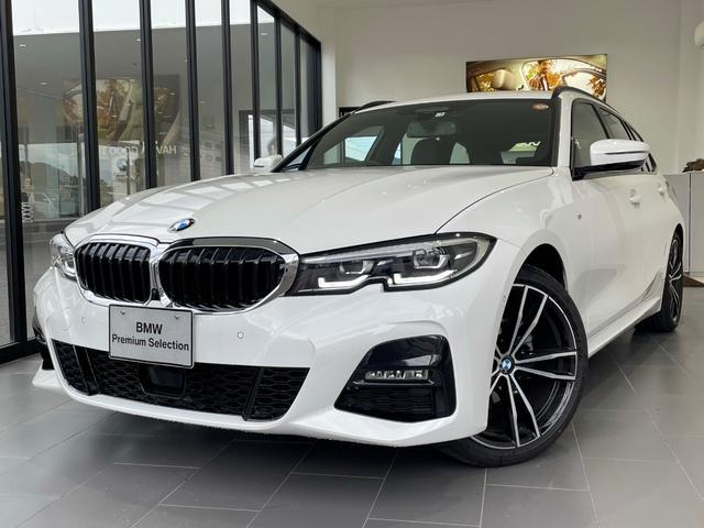 BMW 318iツーリング Mスポーツ 弊社デモカー 現行モデル 19インチAW アラウンドビューモニター 電動テールゲート ACC