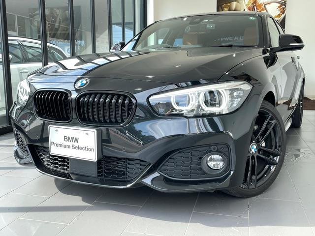 BMW 1シリーズ 118i Mスポーツ エディションシャドー 茶レザーシート ブラックキドニー 黒18AW TVチューナー 純正HDDナビ スマートキー バックカメラ ETC LED 後期最終限定モデル