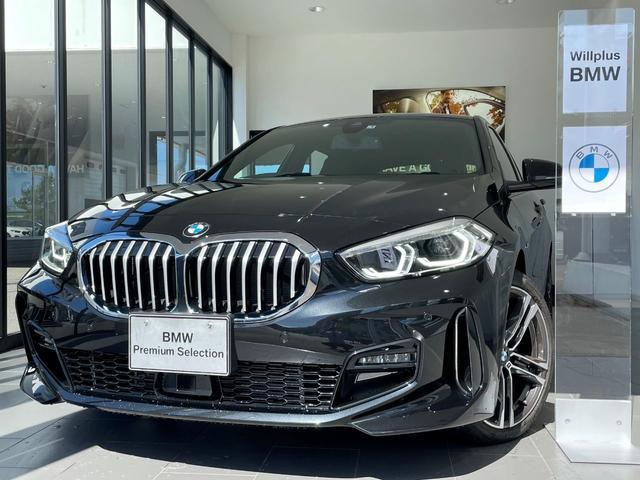 BMW 1シリーズ 118d Mスポーツエディションジョイ+ハイラインP 黒レザーシート 純正HDDナビ ACC スマートキー バックカメラ PDC Pアシスト Bluetooth接続 LED ETC