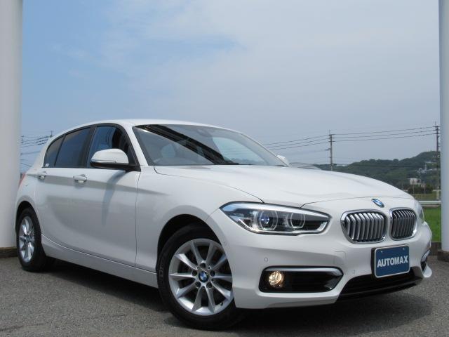 BMW 118i スタイル 1オナ 純正HDDナビ Bカメラ LED