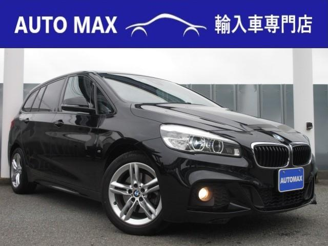 BMW 218dグランツアラー Mスポーツ 純正HDDナビ社外地デジ