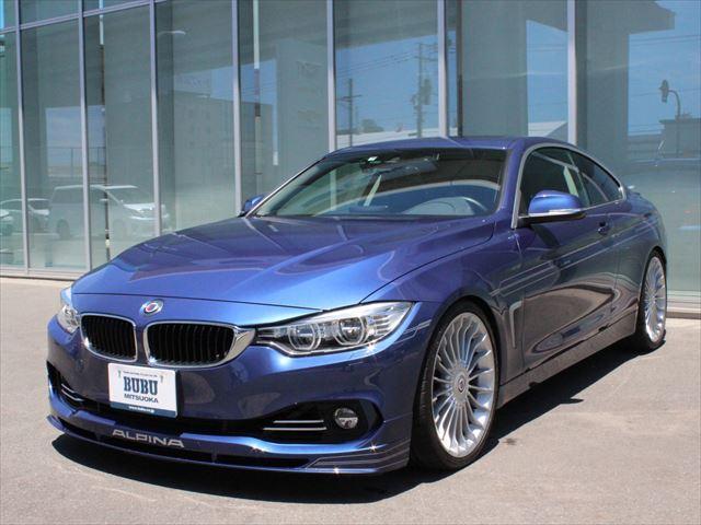 BMWアルピナ ビターボ クーペ オプションカラー デコライン サンルーフ バックカメラ 20インチAW 黒革シート シートヒーター HDDナビ 地デジ KW車庫調 クルーズコントロール スイッチトロニック LEDヘッドライト