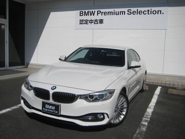 BMW 420iクーペ ラグジュアリー レザーシート HDD ETC