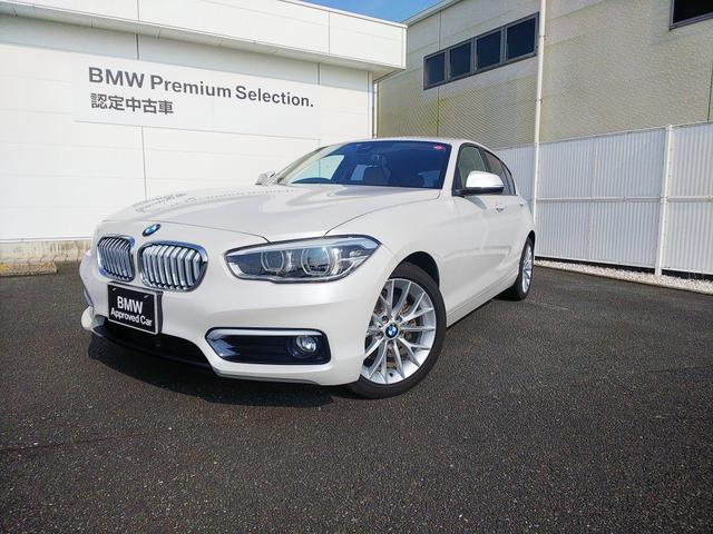 BMW 118iファッショニスタ オイスターレザーACC 1オーナー