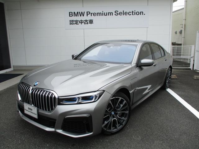 BMW 745e Mスポーツ ナイトビジョン リアエンターテインメント ベンチレーションシート レザーライトレザーフィニッシュダッシュボード サンルーフ