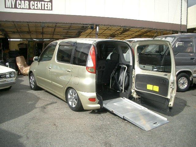 トヨタ ファンカーゴ G スローパー 車いすスロープタイプ 福祉車両 5人乗り