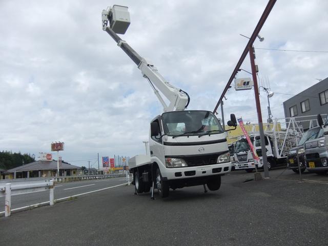 日野 デュトロ 高床 高所作業車9.7mアイチSS10A