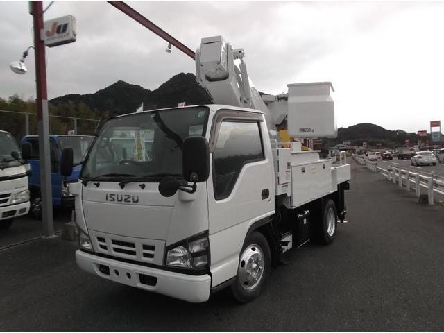 いすゞ エルフトラック  高所作業車9.7mタダノAT100