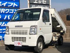 キャリイトラックダンプ 4WD AC PS デフロック 5MT