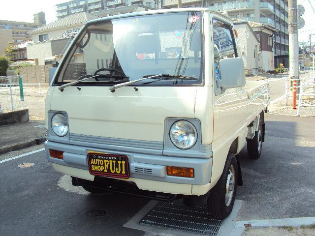 三菱 ミニキャブトラック  4WD NEWペイント・ETC装備・F4・エアコン