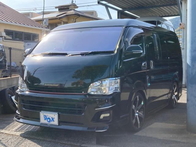 トヨタ GL ロング ミドルルーフ 10人乗り ナビ地デジTV バックカメラ 社外アルミ