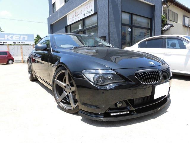 BMW 645Ci 社外ショック・20AW・地デジ・FRリップ