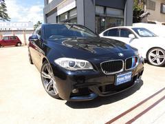 BMW528i MスポーツPKG 新品20AW・4本出しマフラー