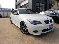 BMW525i Mスポーツ・19AW・地デジ・本革・DVD再生