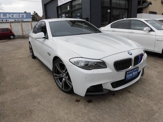 BMW 528i Mスポーツ Mパフォーマンス仕様・20AW・本革