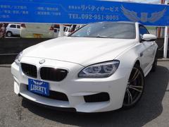 BMW M6正規輸入車 禁煙車 左ハンドル ブラウンレザーシート20AW