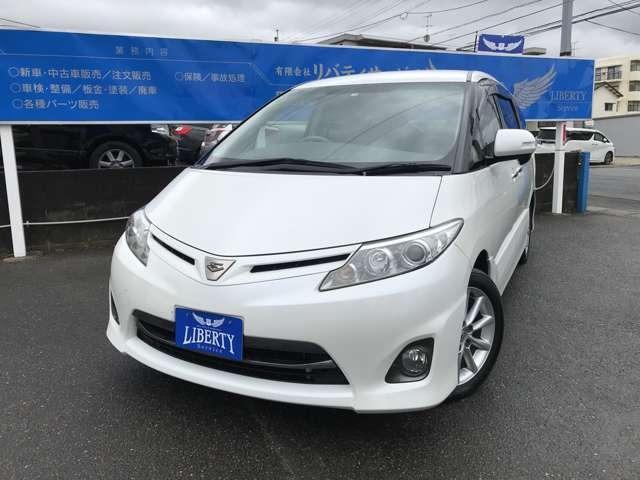 トヨタ 2.4アエラス Gエディション ナビ・テレビ・Bカメラ・ETC・電動ドア
