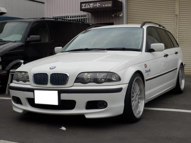 BMW 3シリーズ 318iツーリング 純正アルミ・CD・MTモードWエアバック