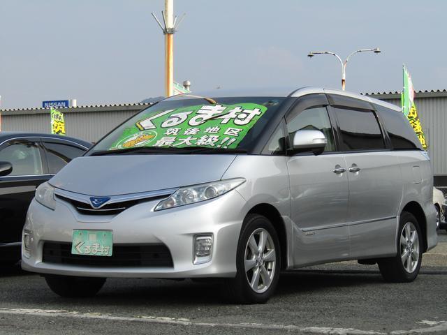 トヨタ X フルセグHDDナビ 左自動ドア 4WD 8人乗 後期型