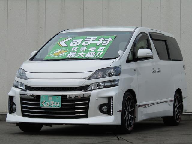 トヨタ 2.4Z G's 8型フルセグHDDナビ 7人乗 限定車