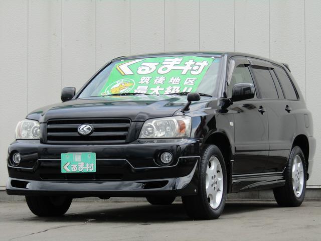 トヨタ 2.4S FOUR HDDナビ AURAエアロ 4WD