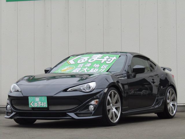 トヨタ GT SDナビ TOM'sエアロ 車高調 カスタム 6速車