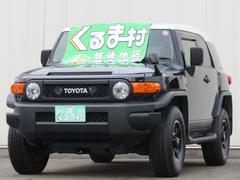 FJクルーザーブラックカラーパッケージ フルセグHDDナビ 4WD