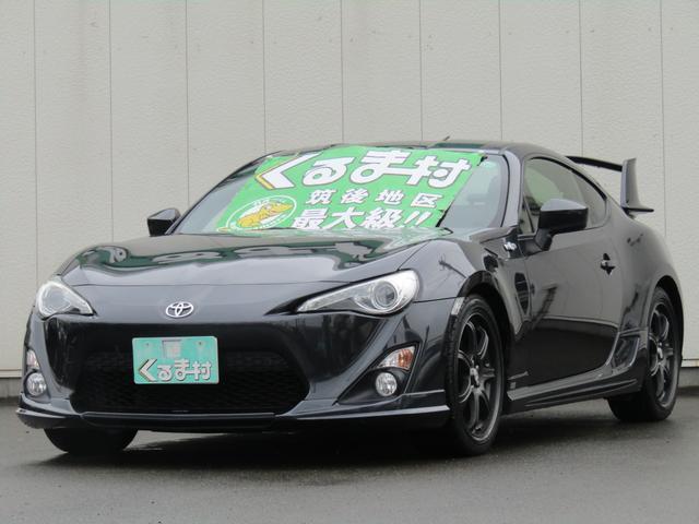 トヨタ GT TEIN車高調 ナビ TOM'Sカスタム仕様 6速車