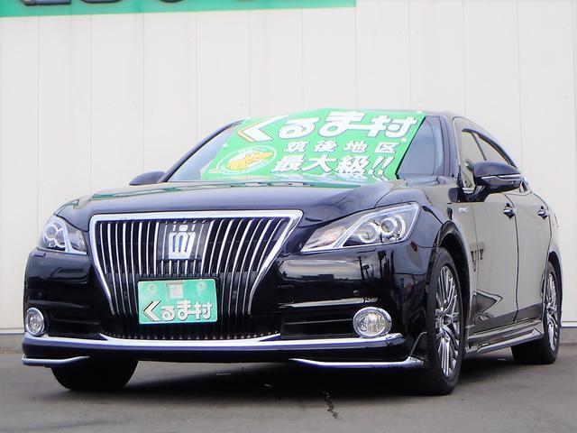 トヨタ Fバージョン HDDマルチ SR 黒革 モデリスタエアロ