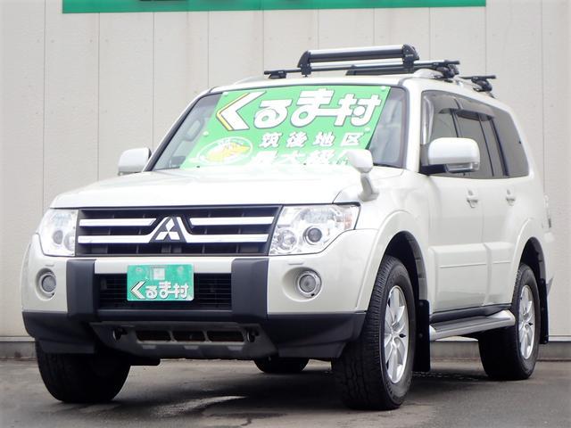 三菱 ロング エクシード ワンセグHDDナビ 4WD 7人乗り