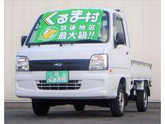 サンバートラックTB 4WD 3方開 エアコン パワステ エアバック 5速車