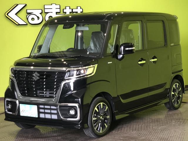 「スズキ」「スペーシアカスタム」「コンパクトカー」「福岡県」の中古車