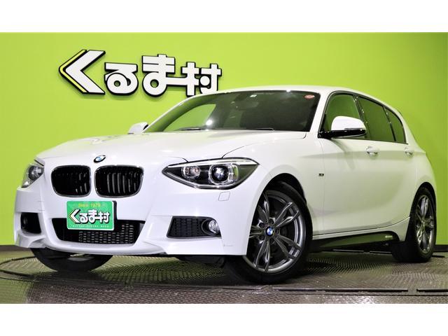 BMW 1シリーズ 116i Mスポーツ OP18AW HDDナビ DVD Bカメラ Pスタート アイドリングS 革巻ステア DTC ミラーウィンカー オートHID フォグ ハーマンカードンサウンド ETC Mエアロ OP18AW 4気筒ターボ 8AT