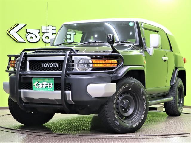 トヨタ カラーパッケージ フルセグHDDナビ Bカメラ クルコン 革巻ステア キーレス Bソナー ETC TRC&VSC 背面タイヤ サイドステップ スチールホイール17インチ グリルガード 4WD 5AT