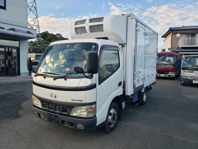 日野 2t 冷蔵冷凍車 低温仕様 S/D付