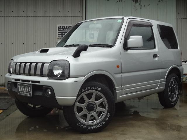 スズキ XG ターボ オートマ 4WD 社外新品アルミタイヤ