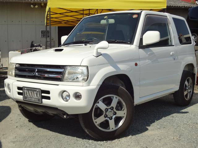 三菱 アクティブフィールドエディション 4WD ターボ オートマ キーレス プライバシーガラス 純正アルミ