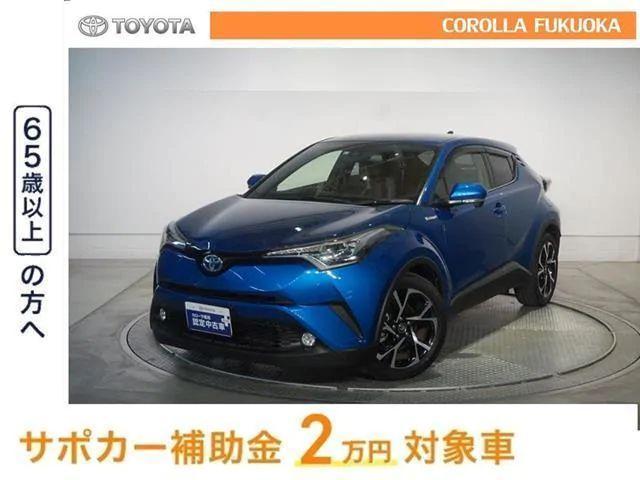 トヨタ C-HR G メモリナビ バックカメラ ETC タイヤ4本新品 LED